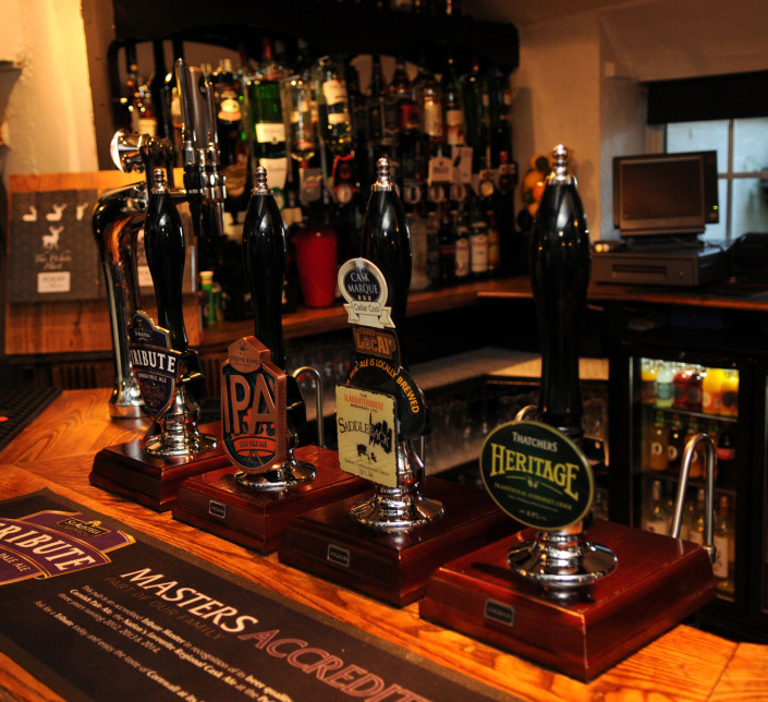 The White Hart Inn Ufton Real Ales